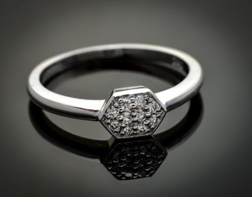 Stackable Diamond Ring 2
