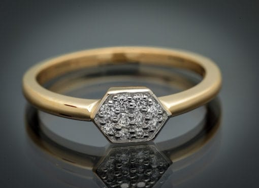 Stackable Diamond Ring 3