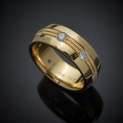 Custom Diamond Wedding Ring