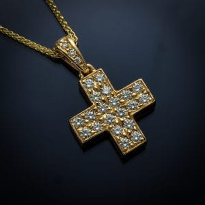 Contemporary Diamond Cross