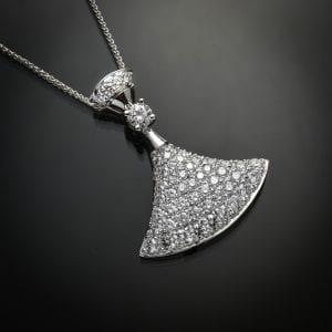 Diamond Ballerina Pendant