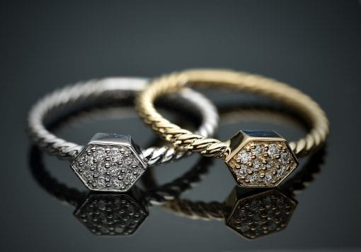 Stackable Diamond Ring 1