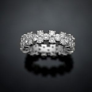 Custom Diamond Eternity Ring