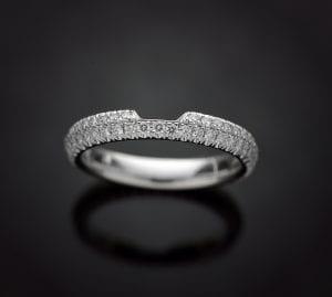 Matching Diamond Wedding Ring