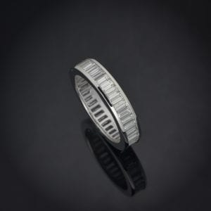 Diamond Baguette Eternity Ring