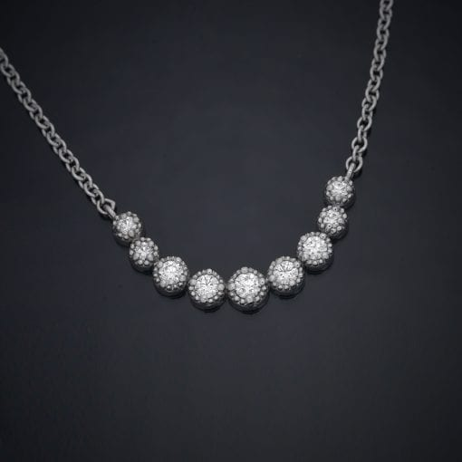Diamond Crescent Pendant