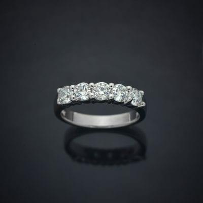 Classic Diamond Wedding Ring