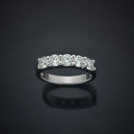Classic Diamond Wedding Ring