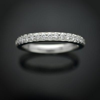 Traditional Diamond Wedding Ring