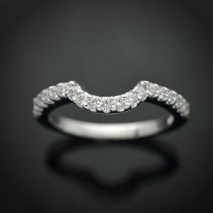 Custom Fit Diamond Wedding Ring