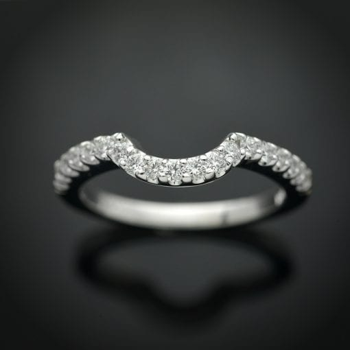 Custom Fit Diamond Wedding Ring