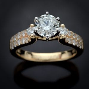 Charleston Diamond Engagement Ring